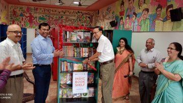Indic Book Shelf Launch in Kikani Vidhya Mandir, Coimbatore