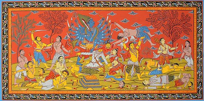 Destruction of Daksha's Sacrifice