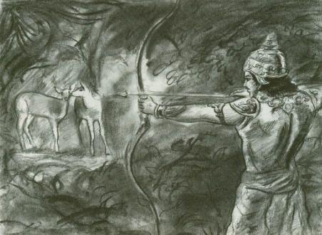 King Pandu Mahabharata