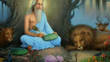Kalidasa's portraits of the life of Rishis and Hermitages Part V