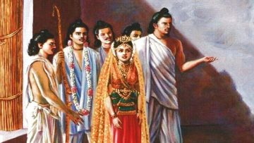 """The Story of Draupadi and Her """"Five Husbands"""""""