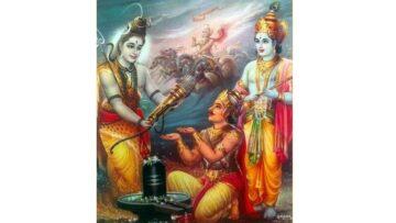 Krishna and Arjuna's Journey to Kailash