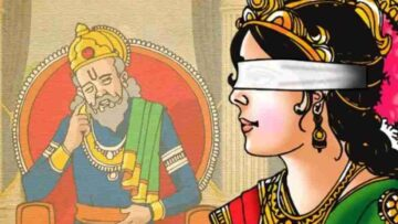 Seeing Again: An Excerpt from The Curse of Gandhari
