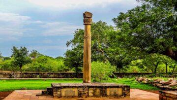 Historic Inscriptions of India: The Besnagar Pillar Inscription of Heliodorus