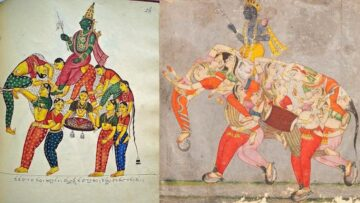 A Unique Motif In Indian Art – Part 1: Nava Nari Kunjara