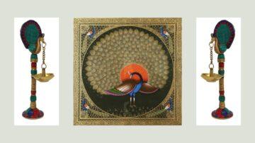 A Unique Motif In Indian Art – Part V: Divyamayura – The Celestial Peacock – 2